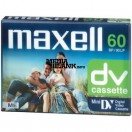 Caseta video miniDV Maxell 60 min
