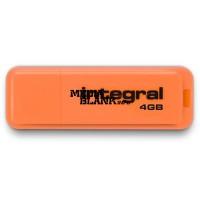 Memorie USB Integral 4GB Neon USB 2.0 Orange