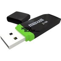Memorie USB Maxell 64GB SpeedBoat USB 3.1 Black