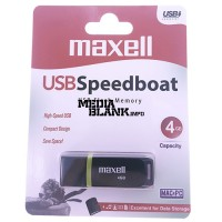 Memorie USB Maxell 4GB SpeedBoat USB 2.0 Black