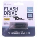 Memorie USB Platinet 4GB V-DEPO USB 2.0 Black