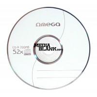 CD-R Omega 52x 700MB Blank