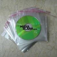 Plicuri plastic transparente pentru CD DVD BD cu autoadeziv