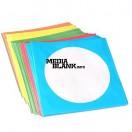 Plicuri colorate pentru CD DVD BD 5 culori / set