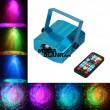 Proiector LED RGB 4W cu senzor audio si telecomanda