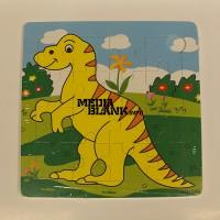 Puzzle din lemn Dinozaur 16 piese