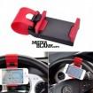Suport Auto cu prindere pe volan pentru smartphone / GPS
