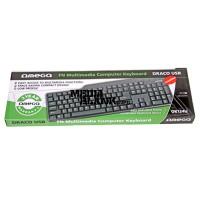 Tastatura Omega OK124 Draco Black USB