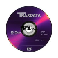 DVD+R DL Dual Layer Traxdata Blank 8x 8,5GB