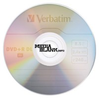 DVD+R DL Dual Layer Verbatim 8.5GB 8x blank xbox